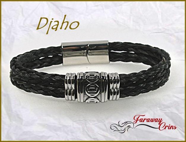 bracelet homme crins