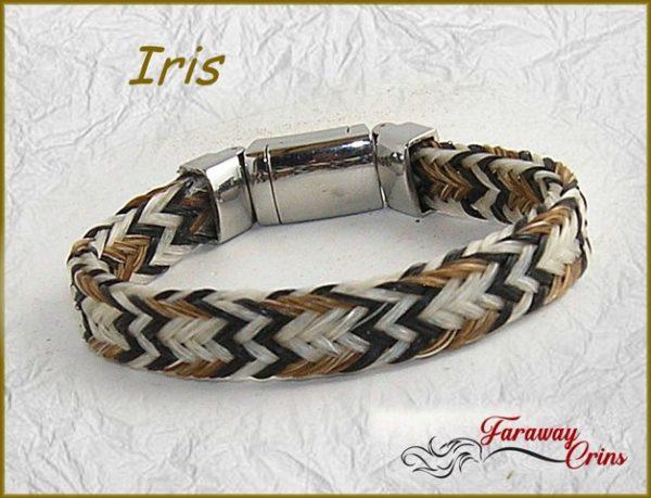 bijoux crins bracelet western