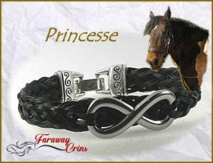 bracelet crins classique
